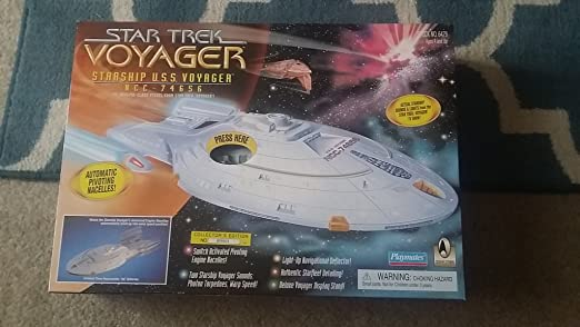 Star Trek Voyager Toys Star Trek Starship Uss Voyager