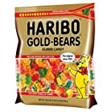 Haribo Gold-Bears Gummi Candy (28.8 Ounce Resealable Pouch) (Tamaño: 1 Pack)