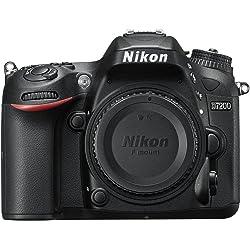 Nikon VBA450AE 24MP HD Digital SLR Camera Body - Black