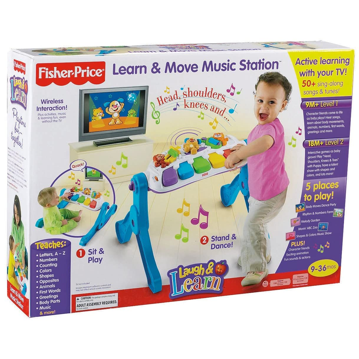 Laugh & Learn Learn & Move Music Station from Fisher-Price