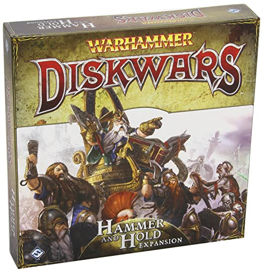 Warhammer Diskwars: Hammer & Hold Board Game Expansion