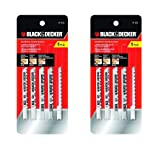 Black & Decker 75-530 Jig Saw Blades (5 Pack), 2 Pack