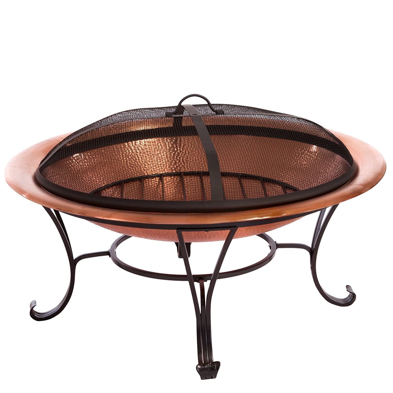 Cobraco Copper Mission Fire Pit Home Decor And Furniture