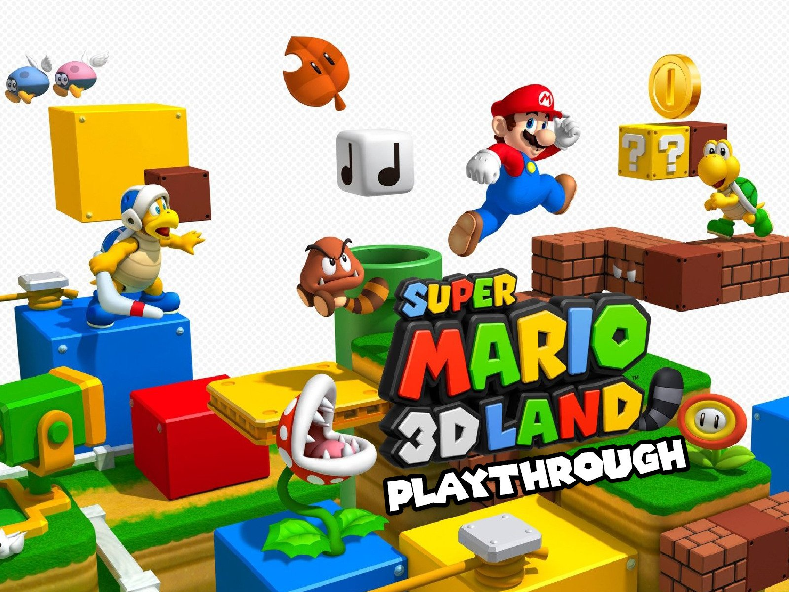 Clip: Super Mario 3D Land Playthrough