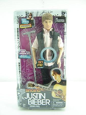 "The Bridge Direct Justin Bieber Singing Doll - ""Boyfriend"" by Bridge Direct (English Manual)"
