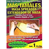 Tamales Masa Spreader - Pack of 4 (Color:  Can be white, red, black or green , Tamaño: Tamales Masa Spreader, 4 Pack)