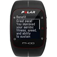 Polar M400 GPS Watch With Heart Rate Monitor (Black)