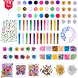 Anezus 178 Pack Resin Jewelry Making Supplies Kit for Resin, Slime, Nail Art, Resin Art Supplies Jewelry Making Kit with Resin Glitter, Wheel Gears Dry Flowers (Color: assorted colors)