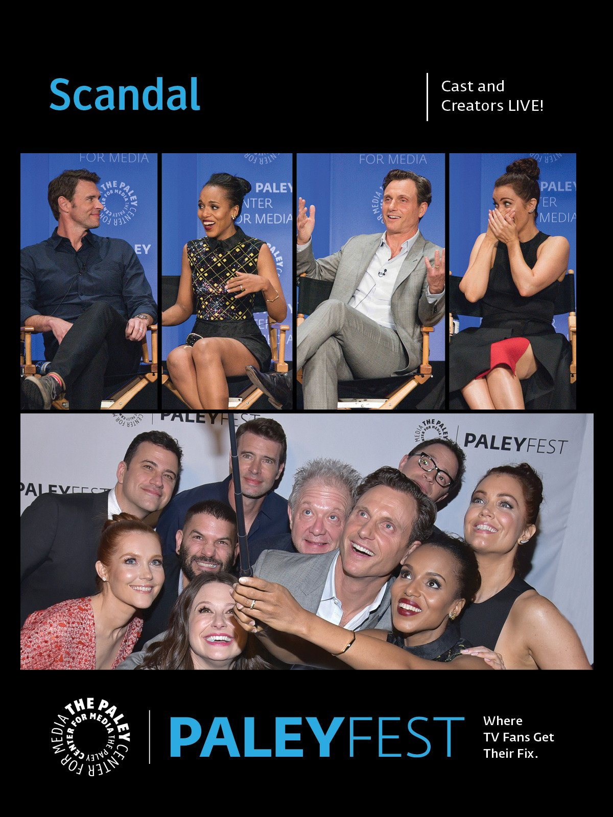 Scandal: The Cast Live at PaleyFest LA 2015