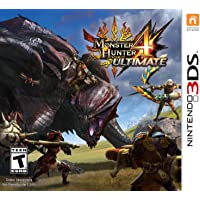Monster Hunter 4 Ultimate for Nintendo 3DS Game