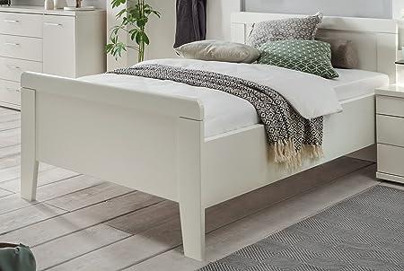 """Stil 47"" - Seniorenbett 100x200cm weiss dekor - Komfortbett weiss dekor - 3115"
