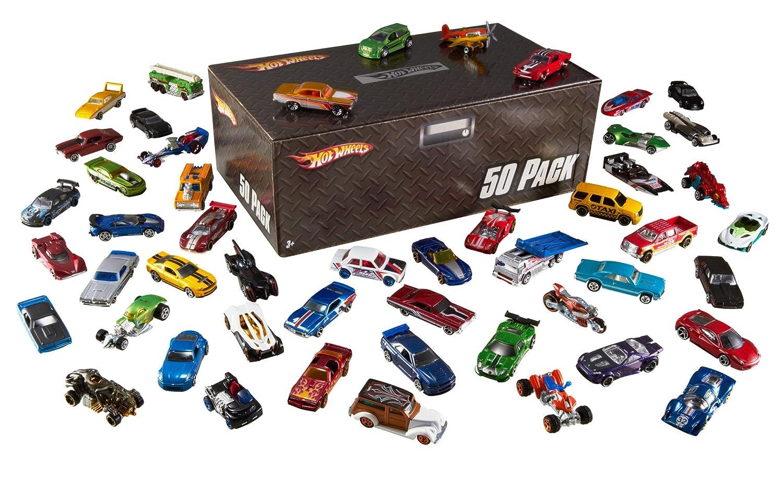 Amazon - Hot Wheels Basic Car 50-Pack - $27.74