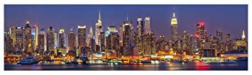 mySPOTTI  251067 profix Skyline New York, Kuchenruckwand, 220 x 60 cm