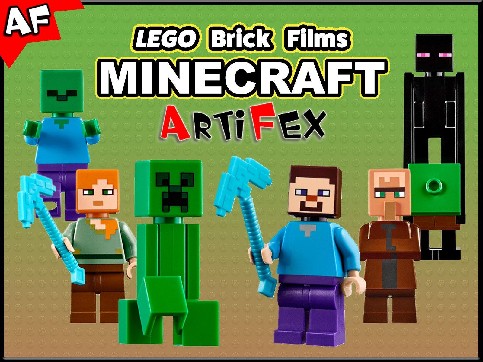Clip: Lego Brick Films Minecraft - Season 1