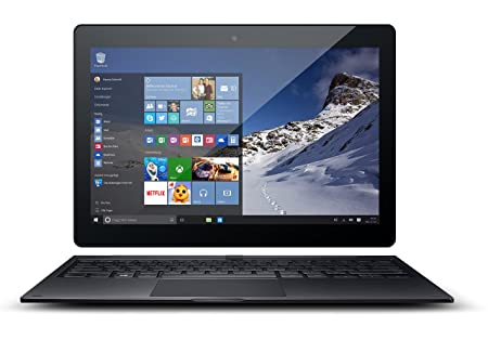 "Odys Winpad 10 - 2in1 Tablette tactile 10,1"" (25,65 cm) (32 Go, Windows 10 Home, 3 Ports USB 2.0, 1 Prise jack, Noir)"
