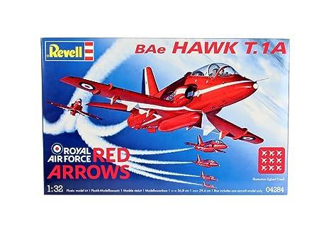 Revell - 4284 - Maquette Classique à Peindre et à Coller - BAe Hawk T.1 Red Arrows
