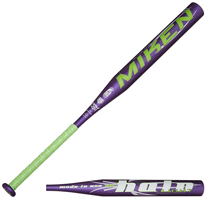Miken Halo Light Composite Fast Pitch Softball Bat