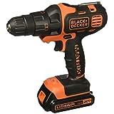 BLACK+DECKER BDCDMT120IA 20-volt Matrix Drill and Impact Combo Kit (Color: Orange)