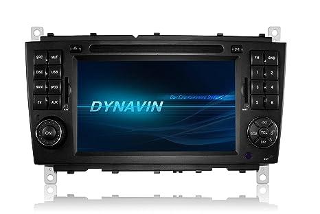 Dynavin DVN-MBC Mercedes D99+ GPS DAB+ pour Mercedes Classe C W203 modèles de 04/2004 à 11/2007