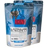 Hard Rhino L-Citrulline DL-Malate 1:1 Powder, 1 Kilogram (2.2 Lbs), Unflavored, Lab-Tested, Scoop Included (Tamaño: 1 Kilogram (2.2 Lbs))