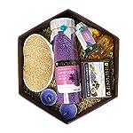 Soulflower Hexagon Bath Set With Lavender