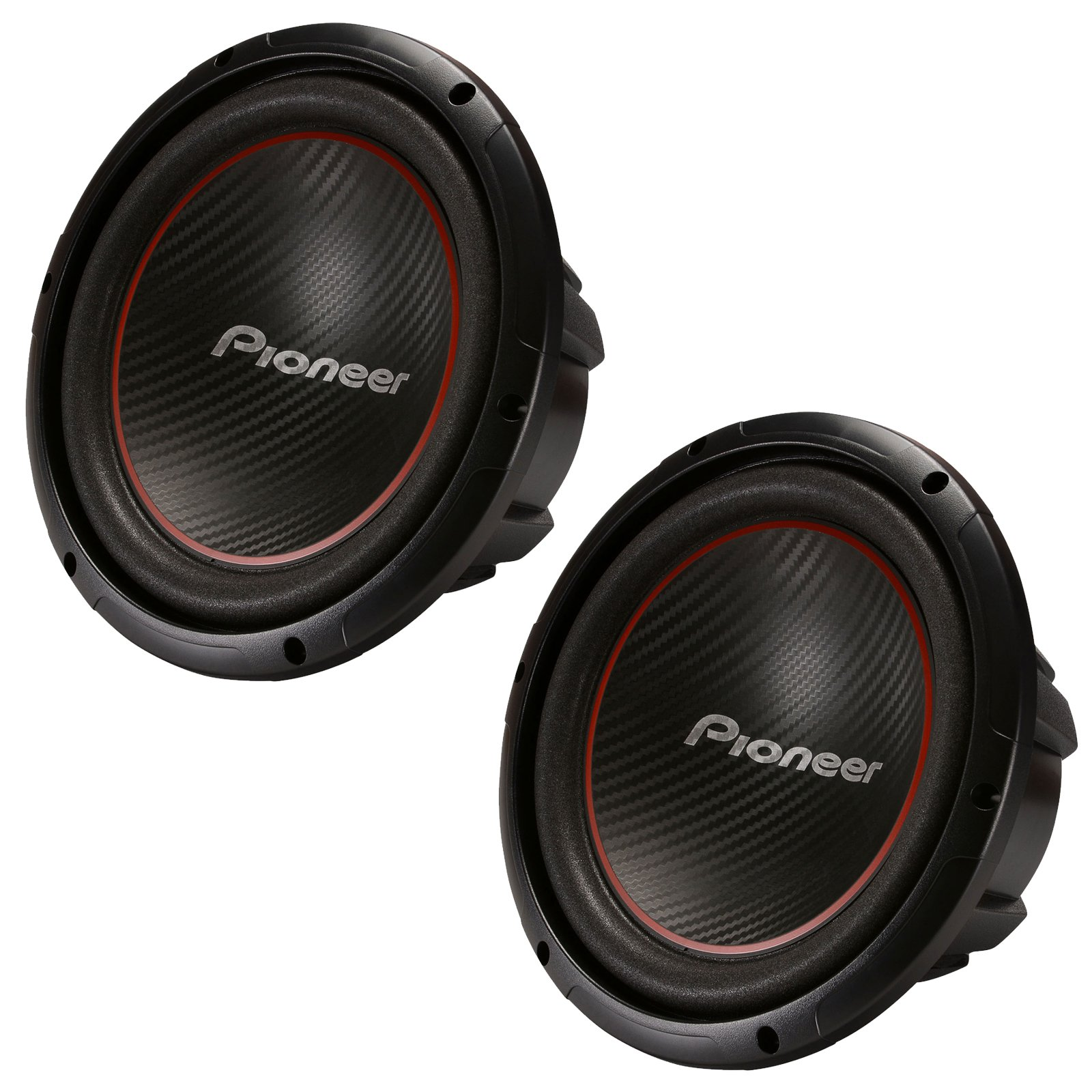 galleon pioneer ts w304r 12 inch 2 x 1300w subwoofers. Black Bedroom Furniture Sets. Home Design Ideas