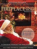 Fireplace for your Home Christmas Music edition [HD]