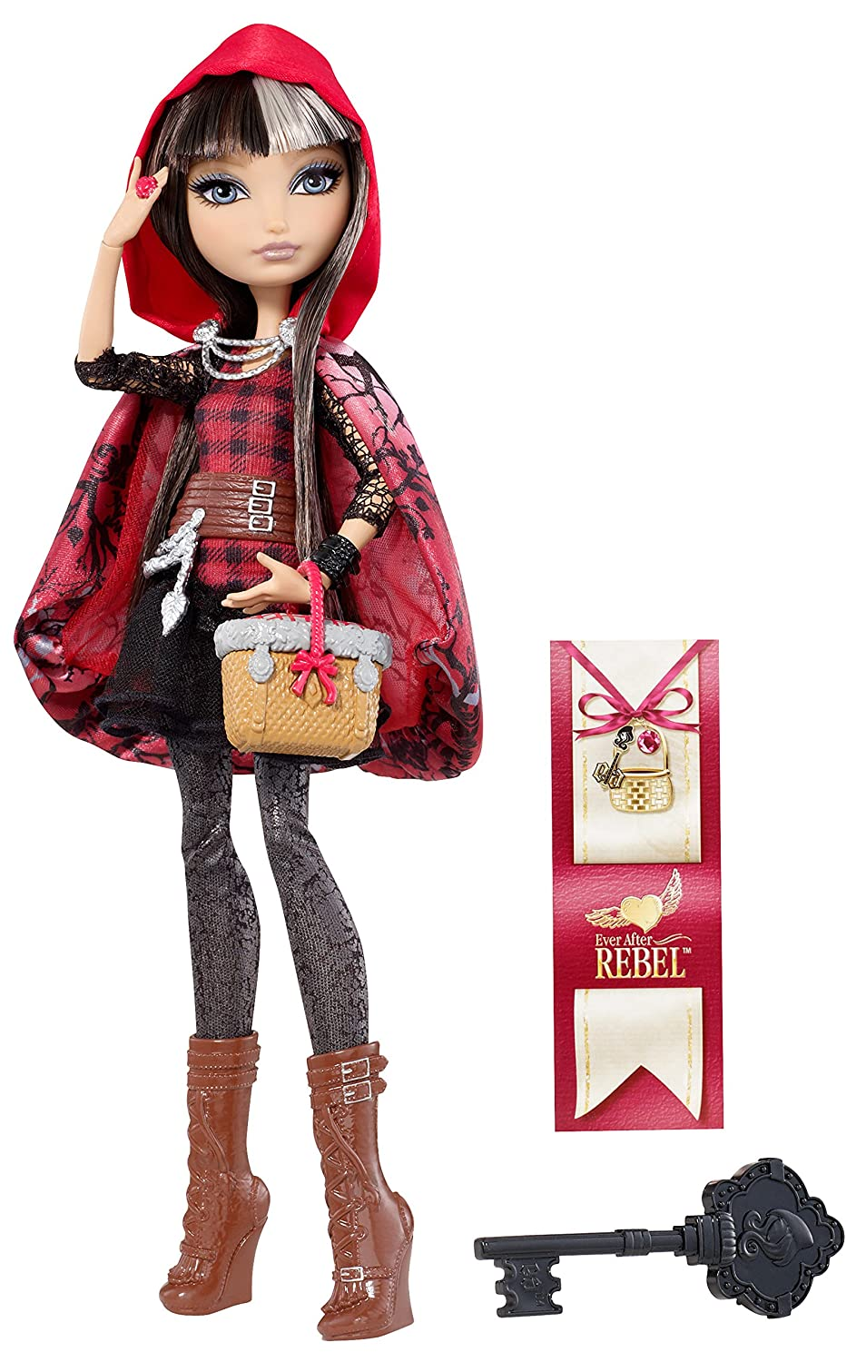 Ever After High Cerise Hood Fashion Doll mattel ever after high dvj20 отважные принцессы холли о хэир