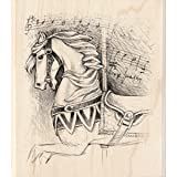Carousel Horse Wood Stamp
