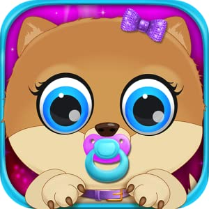 My Celebrity born Pets - Baby & Mommy Dog Pregnancy Care Kids Games Free by Detention Apps