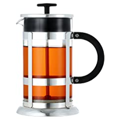 GROSCHE CHROME French Press Premium Cdffee and Tea Maker