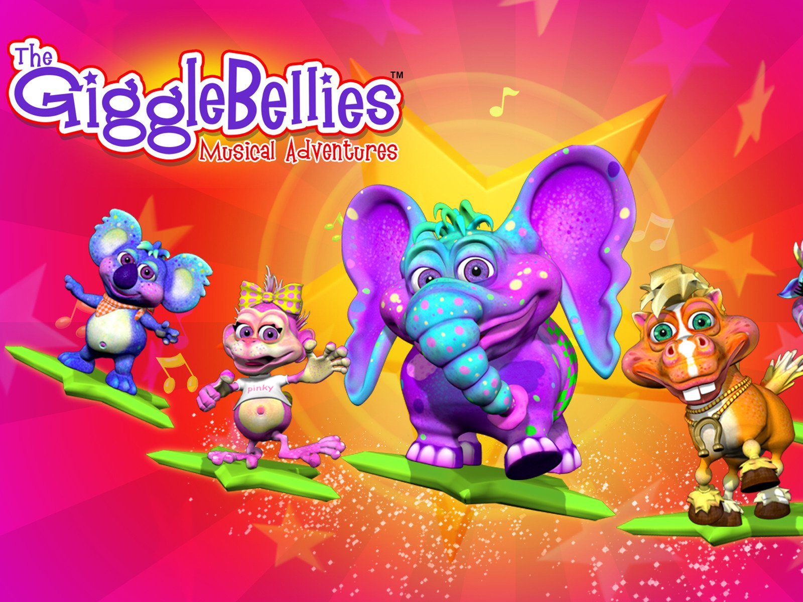 The GiggleBellies: Top Children's Nursery Rhymes - Season 2
