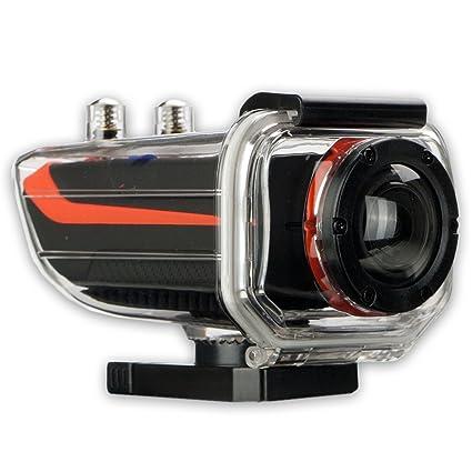 FX2 1001188 Caméra full HD pour sports extrêmes Orange/noir 9,8 x 4,5 x 3,5cm