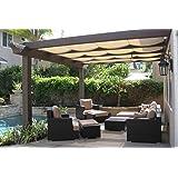 Originline Shade Cloth 6x26ft Beige 90% UV Resistant Outdoor Sun Screens for Plants/Pergola/Patio/Lawn/Garden/Greenhouse/Carport/Porch Cut Edge with Free Clips