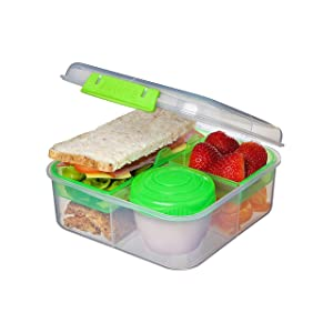 Sistema 21685ZS to Go Collection Bento Cube, 42 oz./1.25L, Color Received May Vary