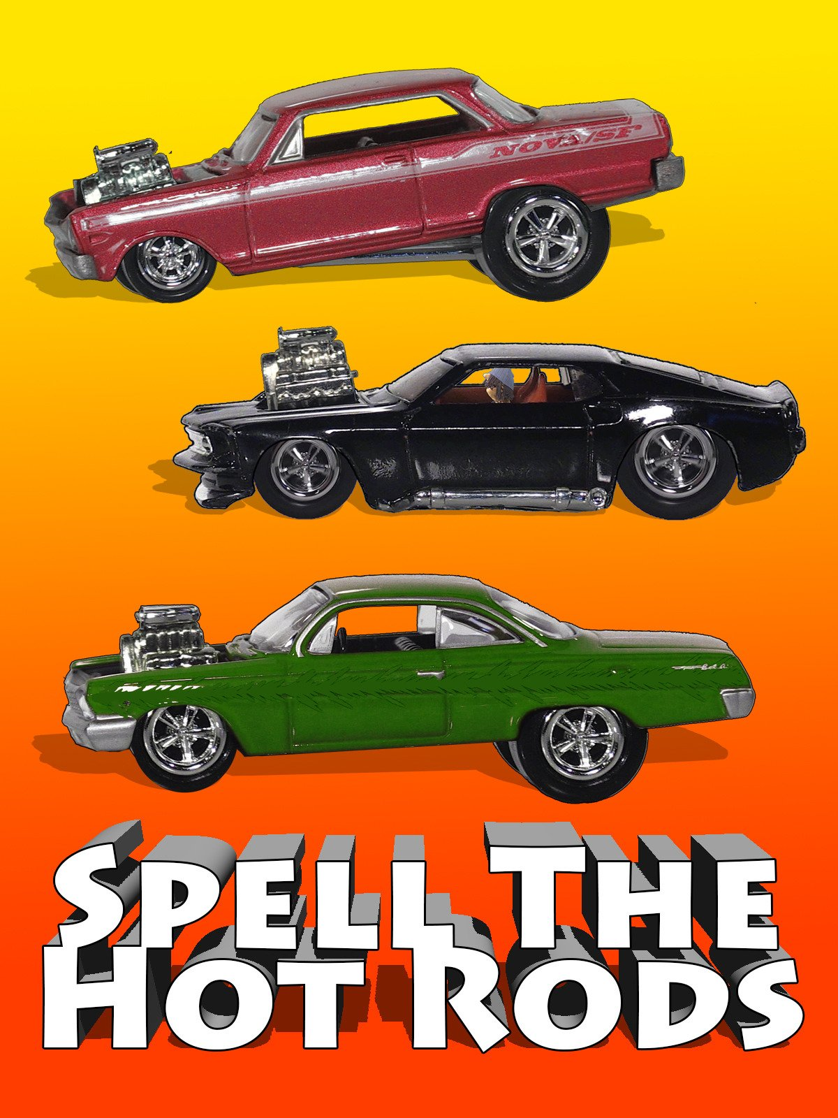 Spell The Hot Rods