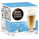Nescafe Dolce Gusto for Nescafe Dolce Gusto Brewers, Cappuccino Ice, 16 Count