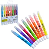Mr. Pen- Dry Highlighter, Gel Highlighter (Pack of 8), Bible Highlighter, No Bleed Highlighter, Highlighters Assorted Colors, Bible Safe Highlighter,