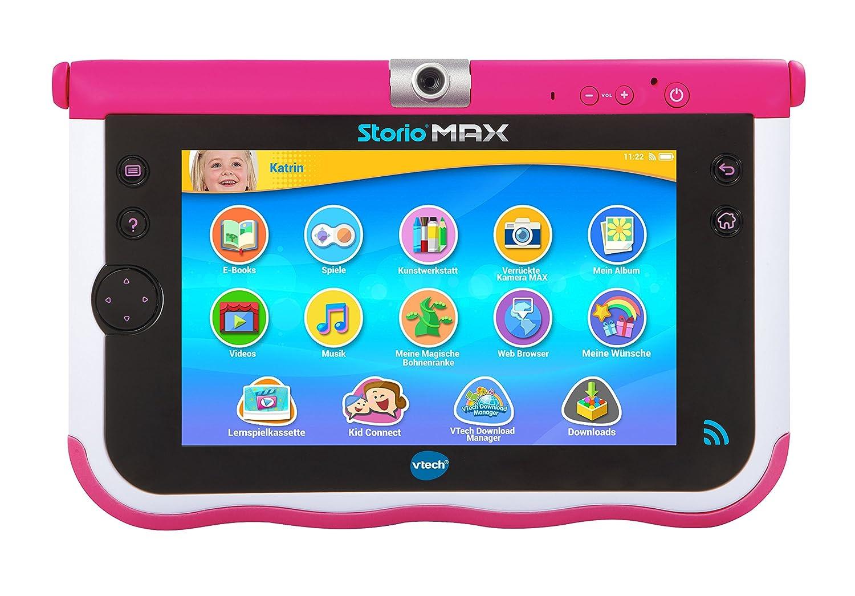 VTech 80-166854 – Tablet – Storio MAX 7 Zoll, pink günstig kaufen