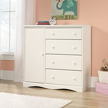 Sauder Pogo Chifforobe in soft white