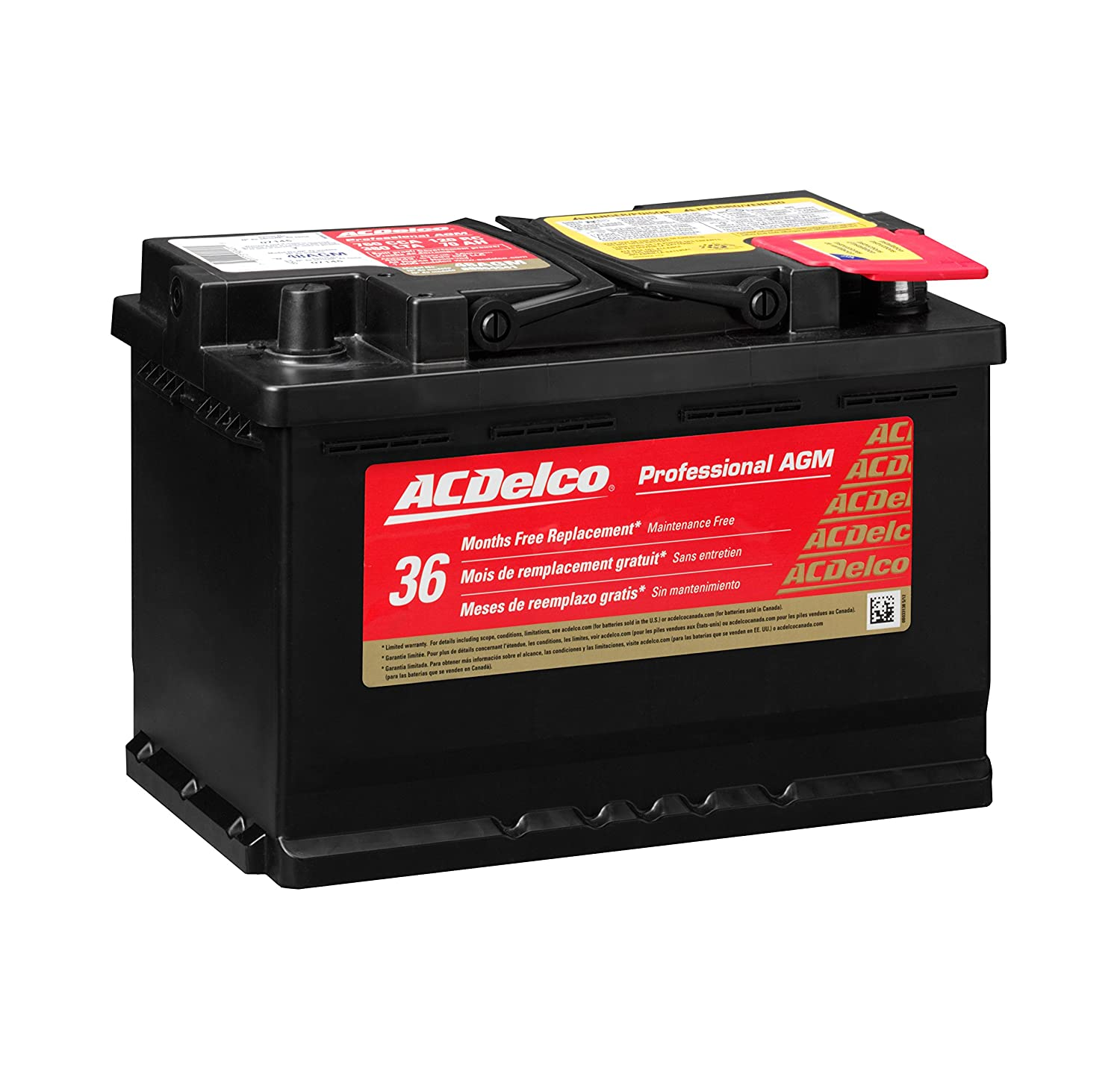 ACDelco 65AGM Professional Automotive Battery