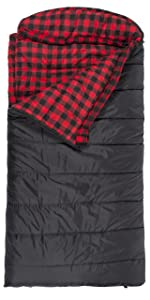TETON Sports Celsius XXL 0 Degree F Flannel Lined Sleeping Bag (90, TETON Sports Celsius XXL Sleeping Bag