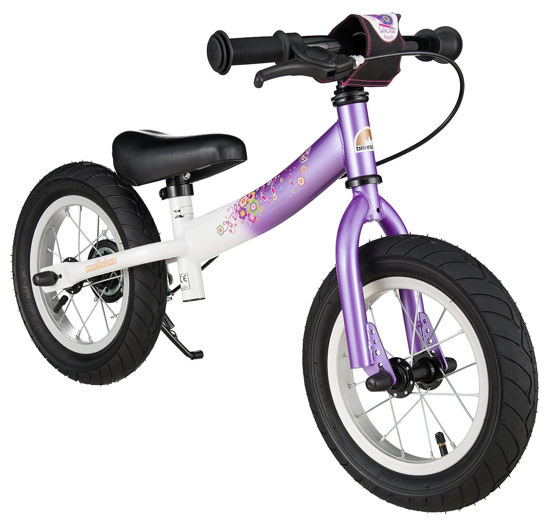 BIKESTAR® Premium Sicherheits-Kinderlaufrad für modebewusste Prinzessinnen ab 3 Jahren ★ 12er Sport Edition ★ Candy Lila & Diamant Weiß online bestellen