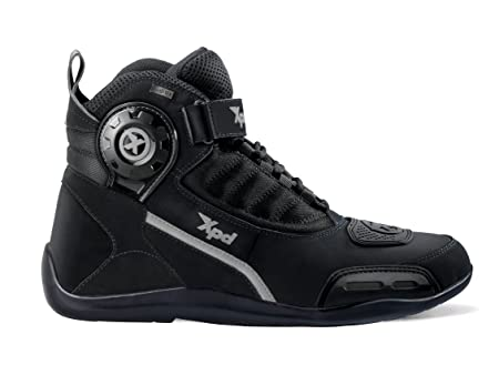 XPD S64-026 Chaussures Motard X-J H2Out, Noir, Taille : 43