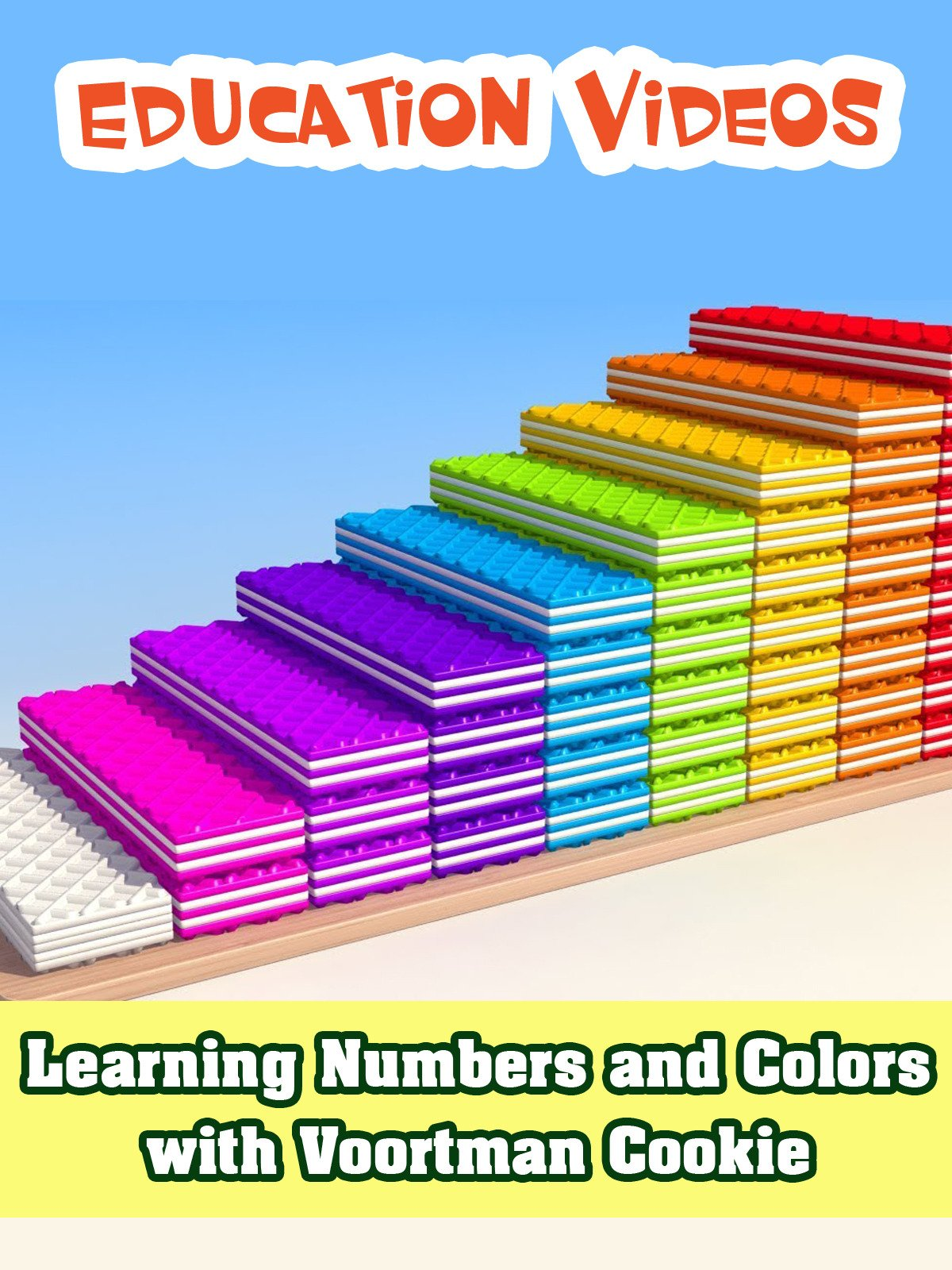 Learning Numbers and Colors with Voortman Cookie