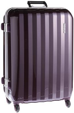 【クリックで詳細表示】[アメリカンツーリスター]AmericanTourister Prismo Frame Spinner/73 (73cm/67L/5.1Kg) 41Z*009 (スーツケース・キャリーケース・トラベルバッグ・TSAロック装備・軽量・大容量・ファスナー・保証付) (パープル): シューズ&バッグ:通販