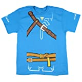 Bioworld Zelda Breath of The Wild Boys Cosplay Youth T-Shirt (Small) (Color: Blue, Tamaño: Small)