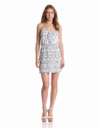 BCBGeneration Women's Full-Pleat Dress, Atlantis Multi, Small