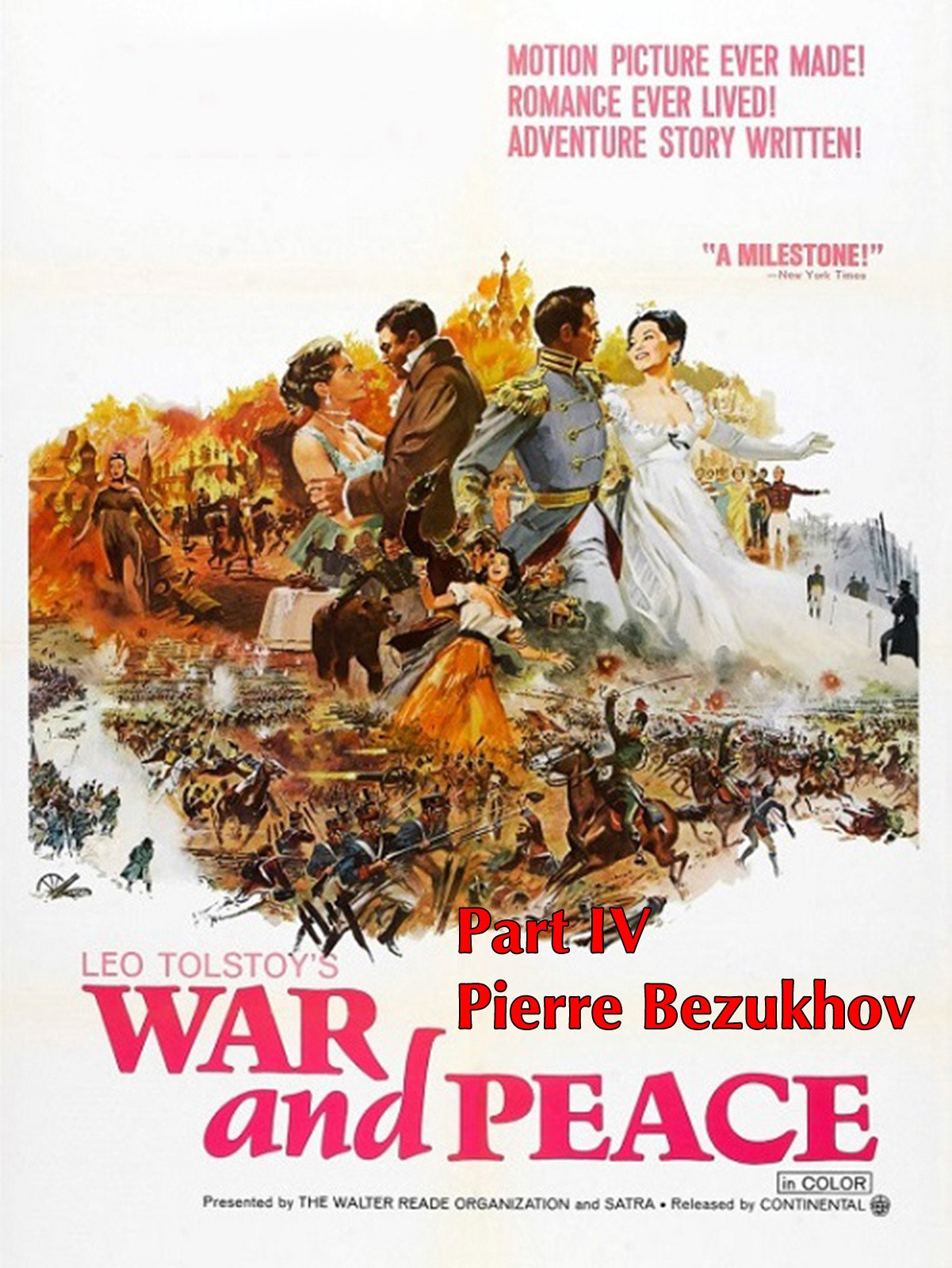 War and Peace: Part IV Pierre Bezukhov on Amazon Prime Video UK