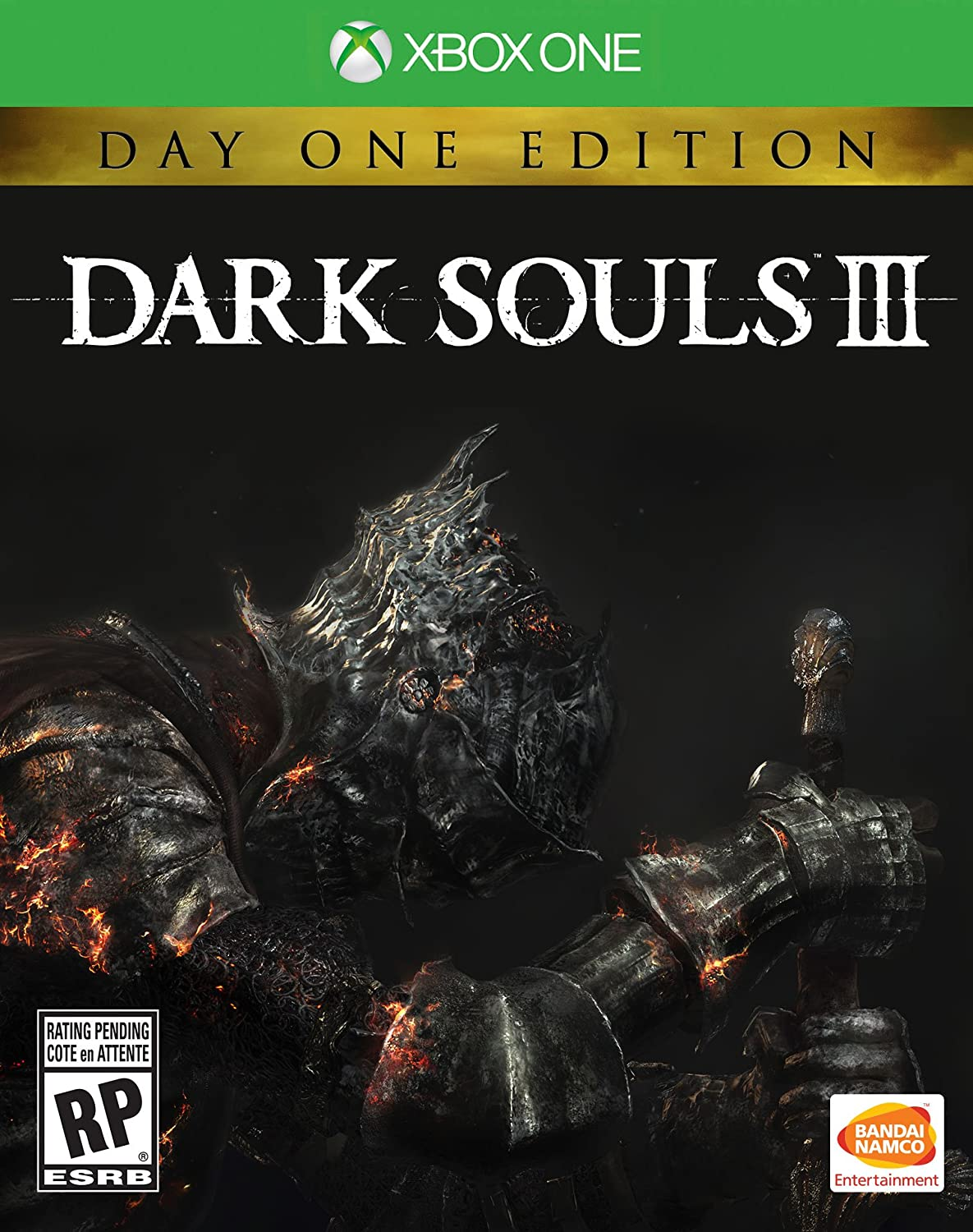 dark souls iii cover art revealed by amazon store page. Black Bedroom Furniture Sets. Home Design Ideas